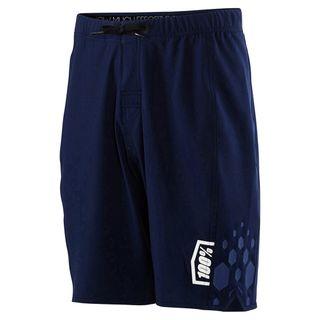 100% Mens Navy Draft Athletic Short