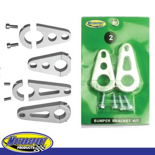 Motorsport Products Bumper Bracket Kit Yamaha Raptor 660