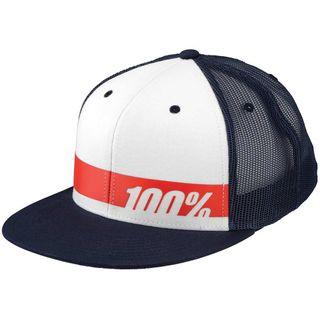 100% Bonneville Navy/White Trucker Hat