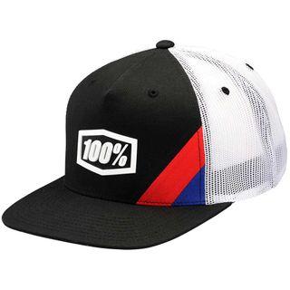 100% Cornerstone Black Youth Trucker Hat