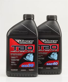 A100040CE TBO PREM BREAK IN OIL SAE40 1L
