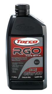 Torco RGO Racing Gear Oil 85W140 GL-6