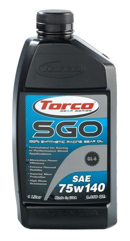 A257514CE SGO RACING GEAR OIL 75w140 1L