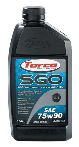 A257590CE SGO RACING GEAR OIL 75w90 1L