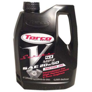 Torco V-Series ST Motor Oil 20W50