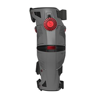 Mobius X8 Knee Brace Storm Grey/Crimson