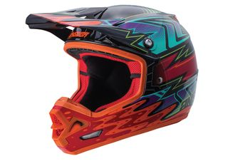 Answer A18 AR-3 Helmet Haze Orange/Red