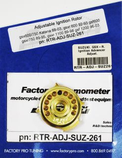 IGNITION ADVANCE ADJUSTER