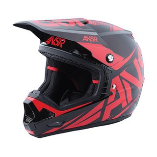Answer A17 Evolve 3 Helmet Black/Red