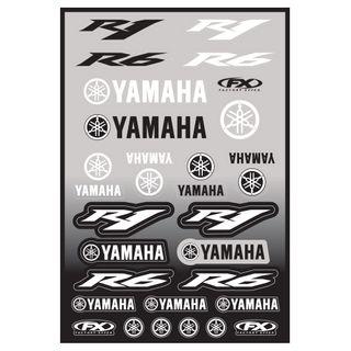 Factory Effex OEM Sticker Sheet Sport Bike Yamaha R1/R6 Kit