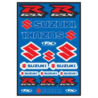 Factory Effex OEM Sticker Sheet Sport Bike Suzuki GSXR Kit