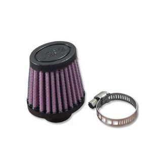 DNA Female Crank Case Vent Air Filter Oval 14mm Inlet 67mm Length