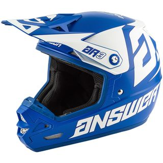 Answer 2020 AR-3 Bold Helmet Reflex/White