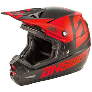 Answer 2020 AR-3 Bold Helmet Black/Red