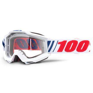 100% Accuri Goggle AF066 Clear Lens