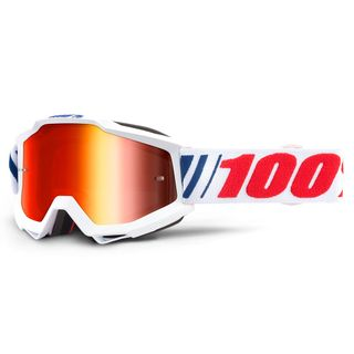 100% Accuri Goggle AF066 Red Mirror Lens