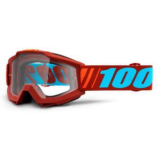 100% Accuri Goggle Dauphine Clear Lens