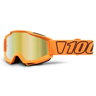 100% Accuri Goggle Luminari Gold Mirror Lens