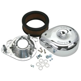 S&S Teardrop Air Cleaner For 1995-'16 HD Big Twin Engines With Stock HD Cylinder Heads or S&S Heads With Stock Breathing System