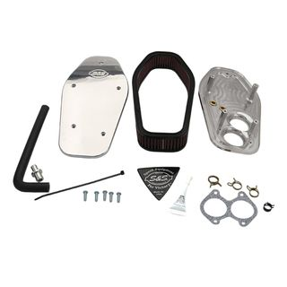 S&S Air Cleaner Kit For 2008-'16 Victory Cruiser Models - Polished Billet Aluminum
