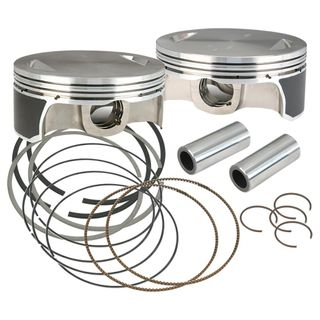 """S&S 41/8"""" Bore Forged Piston Kits For 1984-'16 Hot Set Up Kits"""