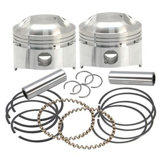 """S&S 3-1/2"""" +.030"""", 80"""" LC Forged Pistons for 1978-'84 HD OHV Engines"""
