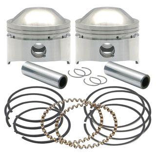 """S&S 3-1/2"""",+.020"""", 80"""" HC Forged Pistons for 1978-'84 HD OHV Engines"""