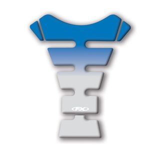 Factory Effex Sport Bike Tank Protector Suzuki Blue/Clear