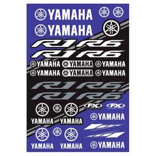 Factory Effex OEM Sticker Sheet Sport Bike Yamaha Kit