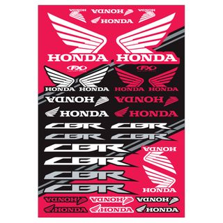 Factory Effex OEM Sticker Sheet Sport Bike Honda Kit