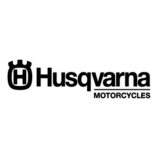 "Factory Effex Die Cut Sticker 12"" Husqvarna Black"