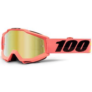100% Accuri Goggle Rogen Mirror Gold Lens