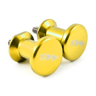 SPP Swingarm Spools 6mm Gold