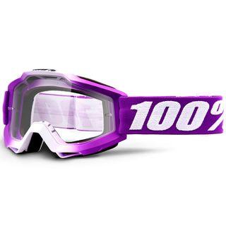 100% Accuri Goggle Framboise Clear Lens