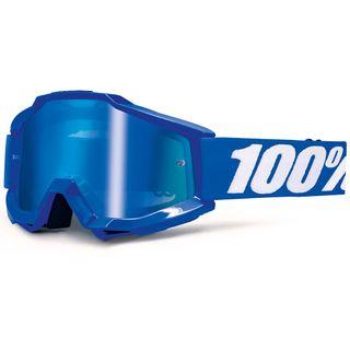 100% Accuri Goggle Reflex Blue Mirror Blue Lens