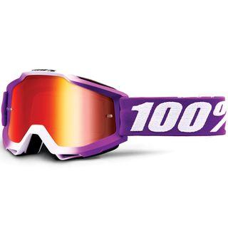 100% Accuri Goggle Framboise Mirror Red Lens