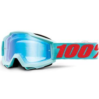 100% Accuri Goggle Maldives Mirror Blue Flash Lens
