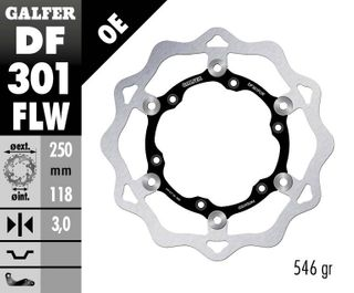 DF301FLW STANDARD FLOATING ROTOR
