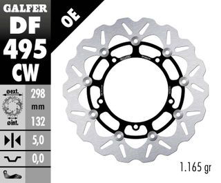 DF495CW STANDARD FLOATING ROTOR