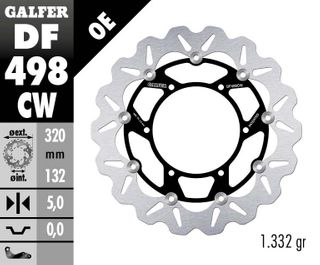 DF498CW STANDARD FLOATING ROTOR