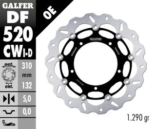 DF520CWD STANDARD FLOATING ROTOR
