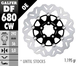 DF680CW STANDARD FLOATING ROTOR