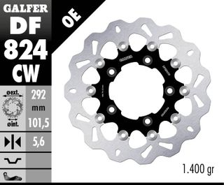 DF824CW STANDARD FLOATING ROTOR