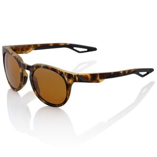 100% Campo Sunglasses Soft Tact Havana with Bronze Lens