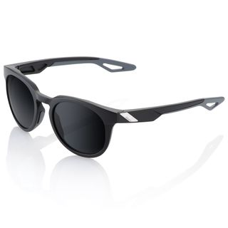 100% Campo Sunglasses Soft Tact Black with Grey PeakPolar Lens