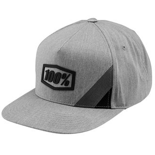 100% Cornerstone Grey Trucker Hat