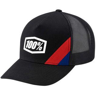 100% Cornerstone Black X-Fit Hat