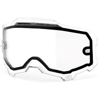 100% Armega Clear Vented Dual Lens