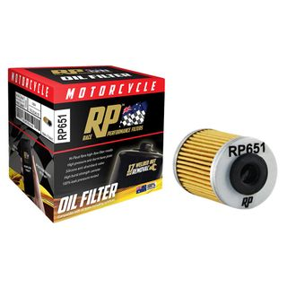 Race Performance Motorcycle Oil Filter - RP651