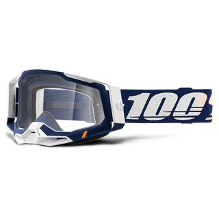 100% Racecraft 2 Goggle Concordia Clear Lens